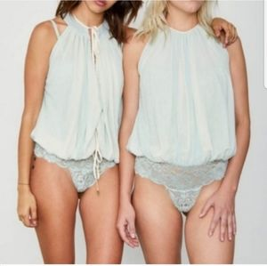 NEW Hot As Hell Split At The Seams Bodysuit